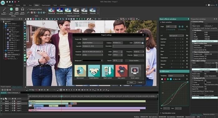 vsdc free video editor - melhor alternativa ao windows movie maker