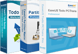 PCTrans Pro + Todo Backup Workstation + Partition Master Pro