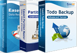 Todo Backup Advanced Server + Partition Master Server + Data Recovery Wizard Pro